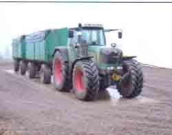Biogas Fahrzeugwaage
